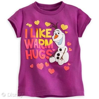 Frozen Olaf Purple T-shirt