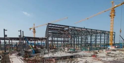 Shanghai Disney Construction