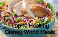 Top 10 Healthy Meals in Disney World
