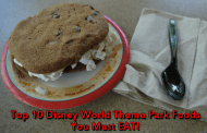 Top 10 Disney World Theme Park Foods you MUST EAT!