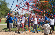 Disneyland VoluntEARS Build a Playground in Anaheim
