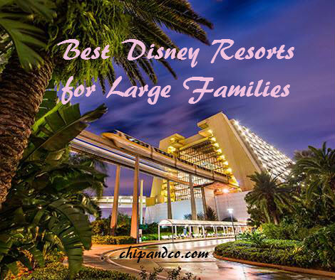 Big Family? No problem! Disney Resorts Can Accommodate Families of 5 or More