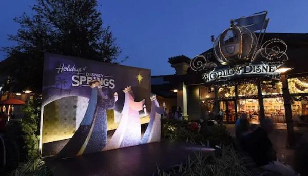 Disney Springs Celebrates its First Christmas Season