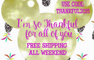 Free Shipping all weekend from Make it Festive!