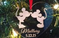 Disney Finds - Handmade Disney Christmas Ornaments