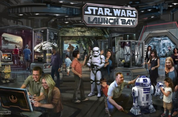 Disney Releases full details for Star Wars Launch Bay in Hollywood Studios and more!