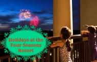 Four Seasons Orlando at WDW Resort Celebrates the Holiday Magic