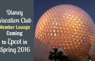 Disney Vacation Club Member Lounge Coming to Epcot