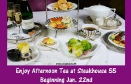 Afternoon Tea at Steakhouse 55 in the Disneyland Hotel beginning Jan. 22nd