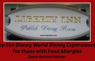 Top Ten Dining Experiences for those with Food Allergies - Quick Service Edition
