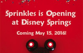 Sprinkles Cupcake shop & ATM set to open May 15th in Disney Springs