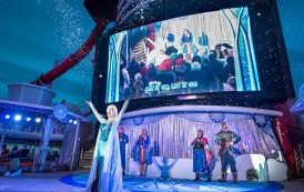 Day of Frozen Fun Aboard Disney Wonder and Disney Magic This Summer