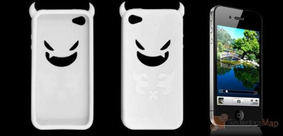 soft silicone devil style white skin casee for iphone 79287c 572x275 Top 16 Apps and Gadgets for Halloween