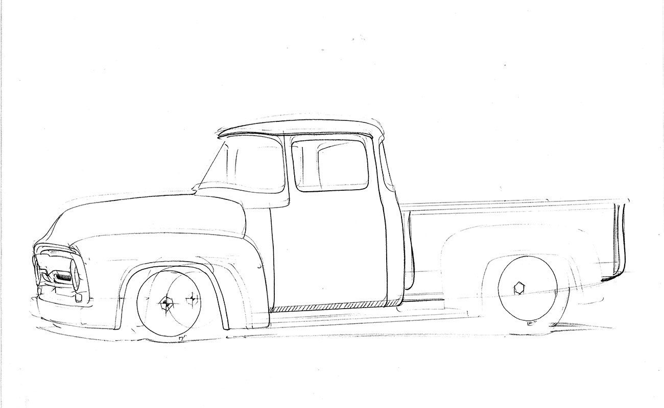1956 ford truck suspension