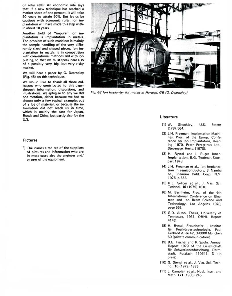 ion implantation