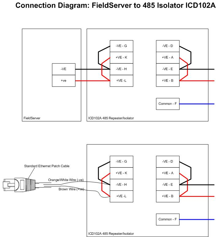 2 wire for modbus rs485 wiring diagram