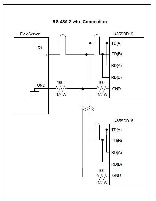 Bacnet Communication Wiring Wiring Diagram