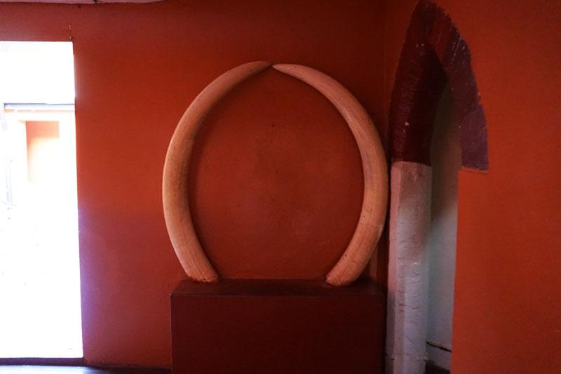 Lundazi Castle horns