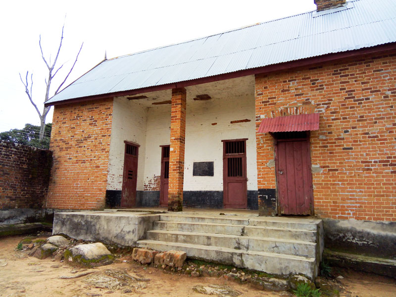 Mbala Old prison- Front view