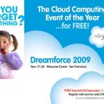Salesforce : Dreamforce – Free Keynote and Expo Pass