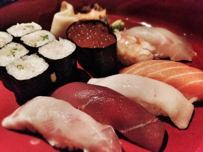 Sushi Sashimi Platter at Chisou Chiswick, Copyright Mat Smith Photography