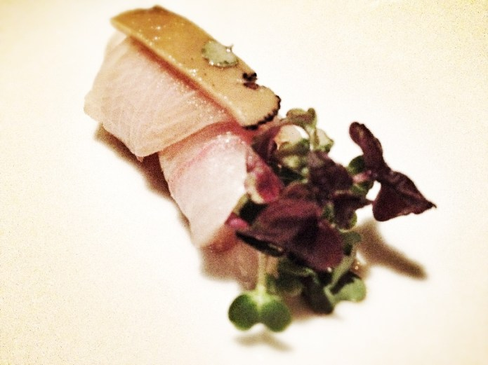 Chiswickish - Chisou Chiswick, Yellowtail Sashimi in Black Truffle Infused Soy