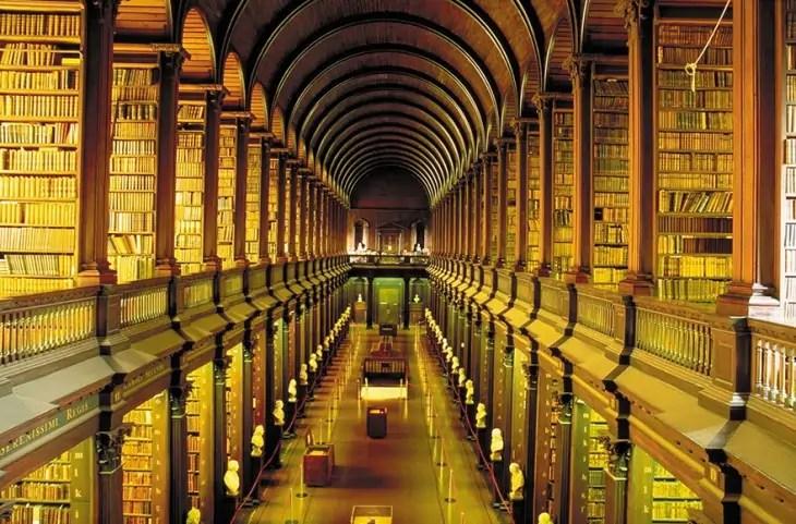 300-годишната библиотека в Дъблин е изумителна!