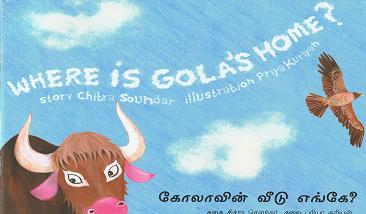 Where is Gola's Home? Tulika Books - the story about homes, landscapes, colours and more.