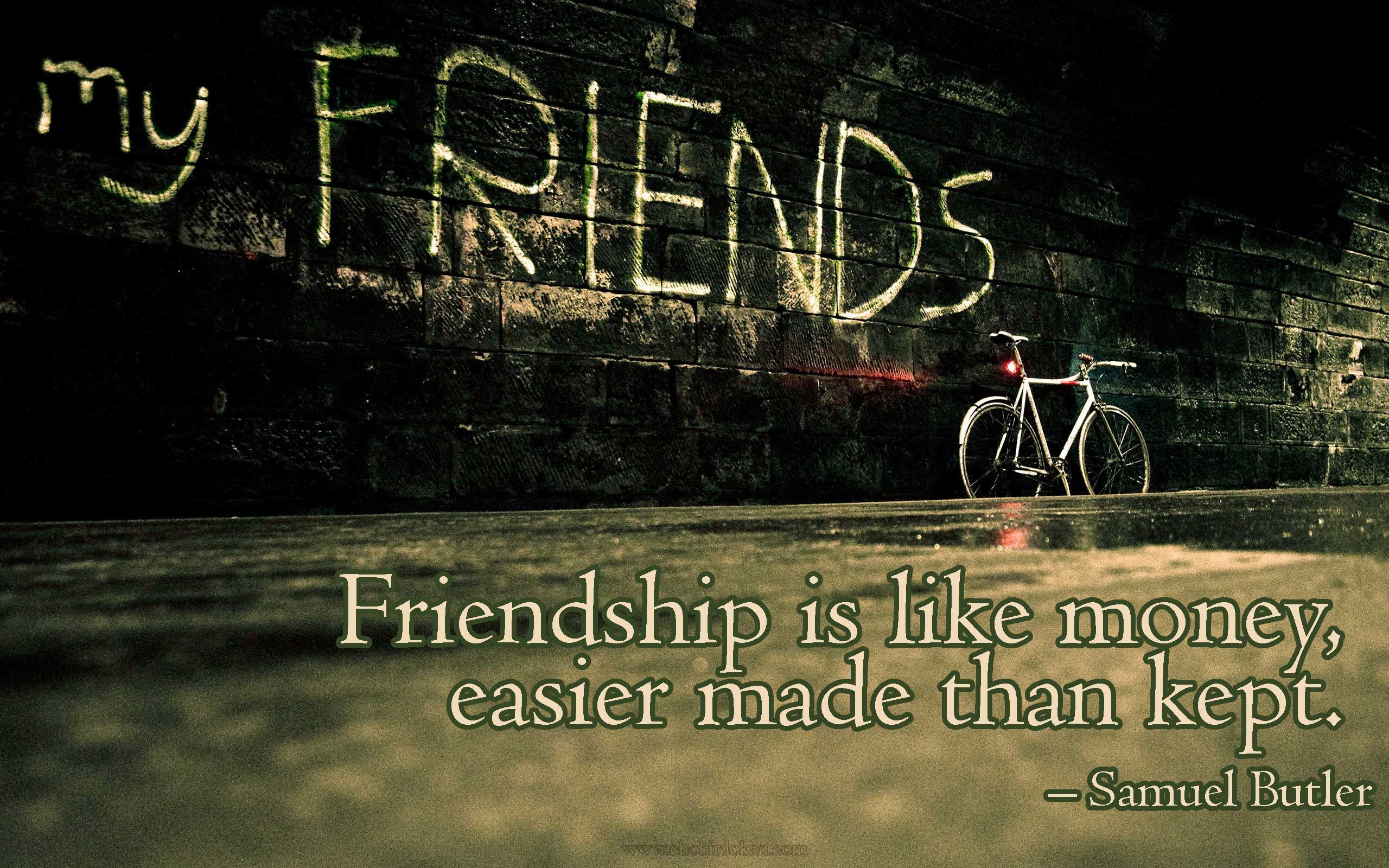 40+ Cute Friendship Quotes With Images | Friendship wallpapers -Chobirdokan