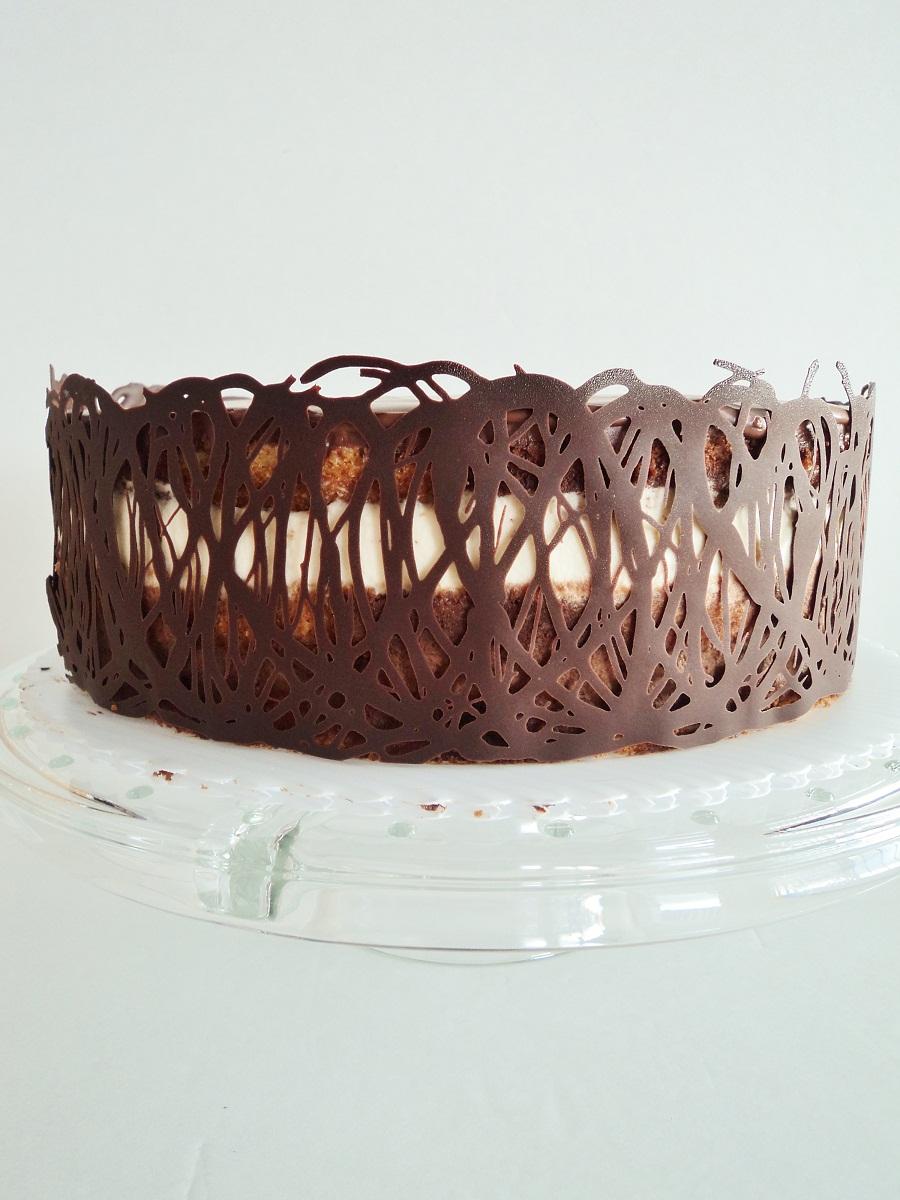 Tuxedo Truffle Chocolate Mousse Cake