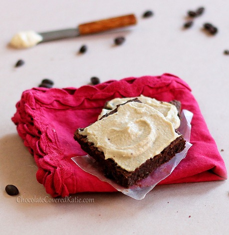Mocha Frosted Brownies