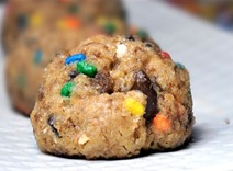 funfetti cookie dough balls!