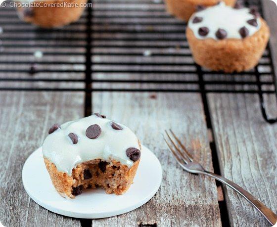 vegan cookie dough cupcakes