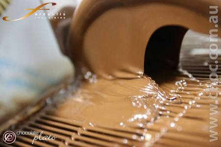 Silky smooth chocolate tunnel of sweet love