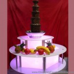 Chocolate Fountain with Led Base