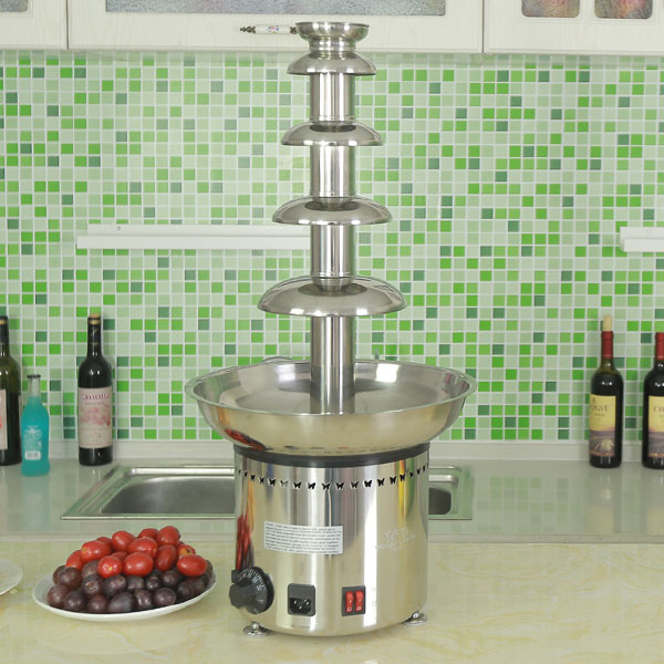 CF30A 5 tiers Commercial Chocolate Fountain for Catering