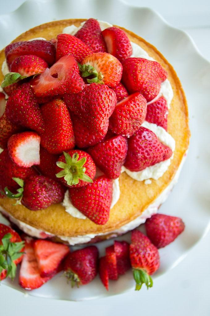 Victoria Sponge Cake, Victoria Sponge, Balsamic Strawberries, Strawberry Compote, Victoria Sponge Cake with Balsamic Strawberries, Strawberry Jam Cake, Victoria Sandwich, Birthday cake, Happy Birthday Cake, Cake, Cake recipe, Strawberry and cream cake, Strawberry Cream Cake, Strawberries and cream cake, Strawberries Cream Cake, Victoria Sponge Sandwich, easy birthday cake, summer cake, summer dessert, easy dessert, english dessert, English cake,