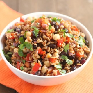 vegetable-farro-protein-power-bowl