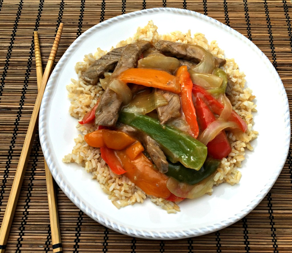 bell peppers quick beef stir fry with bell peppers recipes dishmaps ...