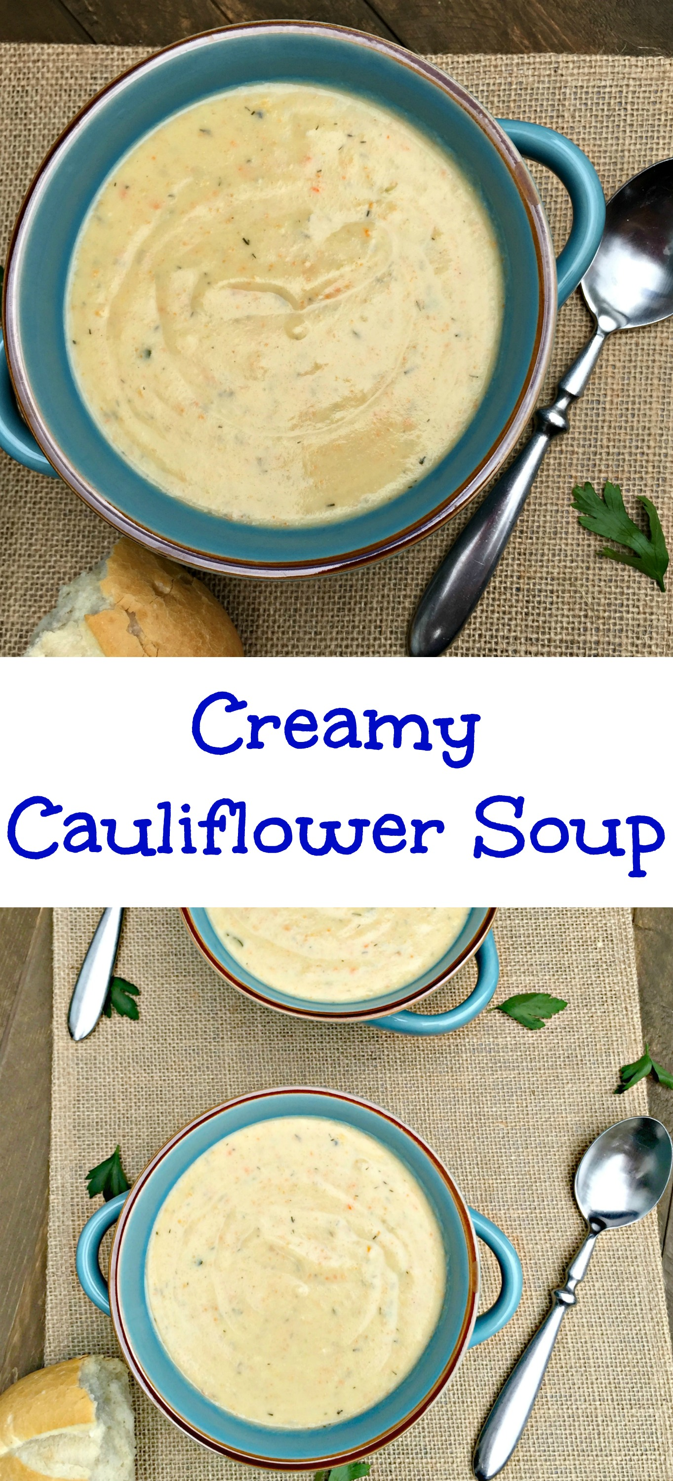 creamy cauliflower soup a creamy soup packed with veggies 30