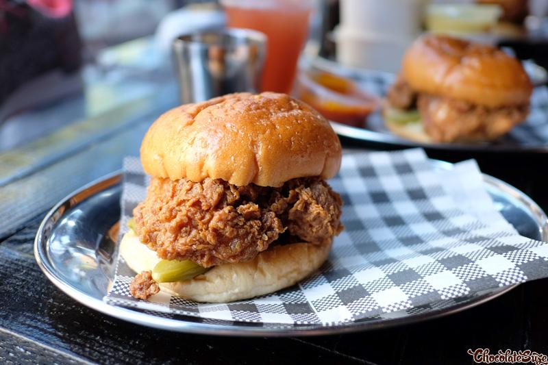 Fried Chicken Sandwich at Butter, Surry Hills