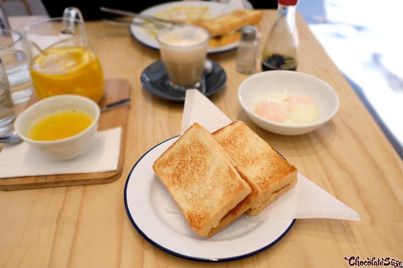 Kopitiam Kaya Toast and Onsen Eggs at Cafe Rumah, Surry Hills