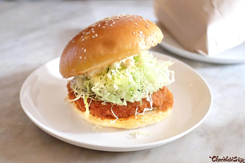 Ebi Prawn Burger at Bar Ume, Surry Hills