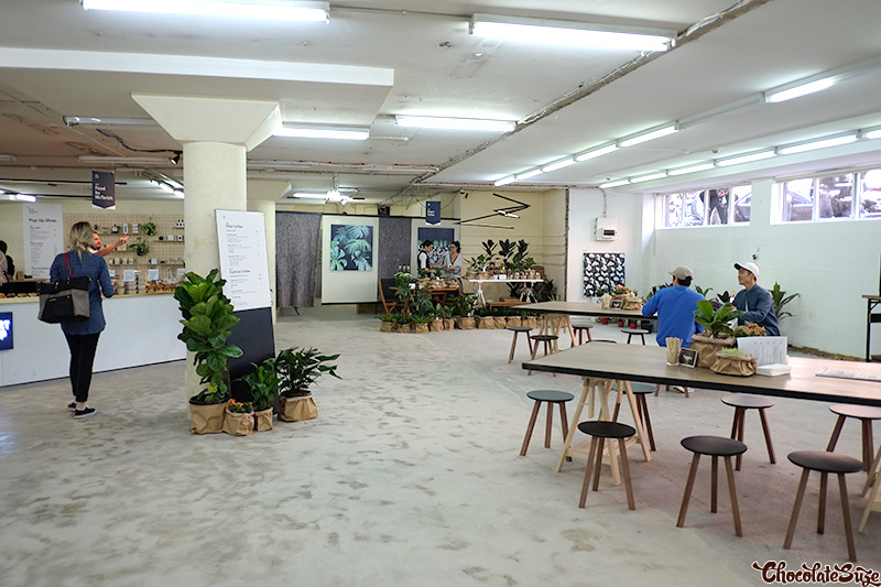 Five Senses Pop-Up, Surry Hills