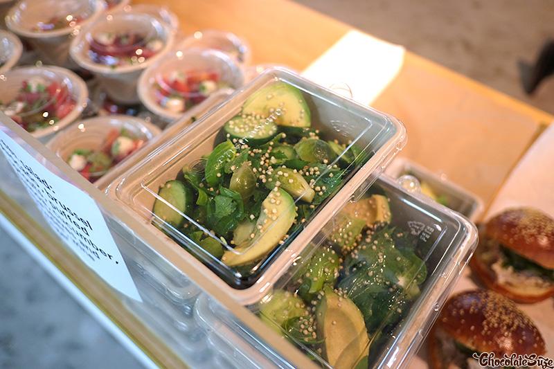 Green Salad at Five Senses Pop-Up, Surry Hills