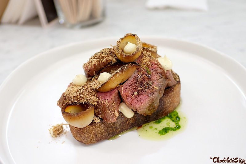 Hangar Steak at Five Senses Pop-Up, Surry Hills