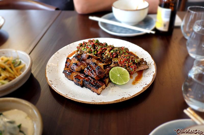 Pork at Yan Restaurant, Wolli Creek