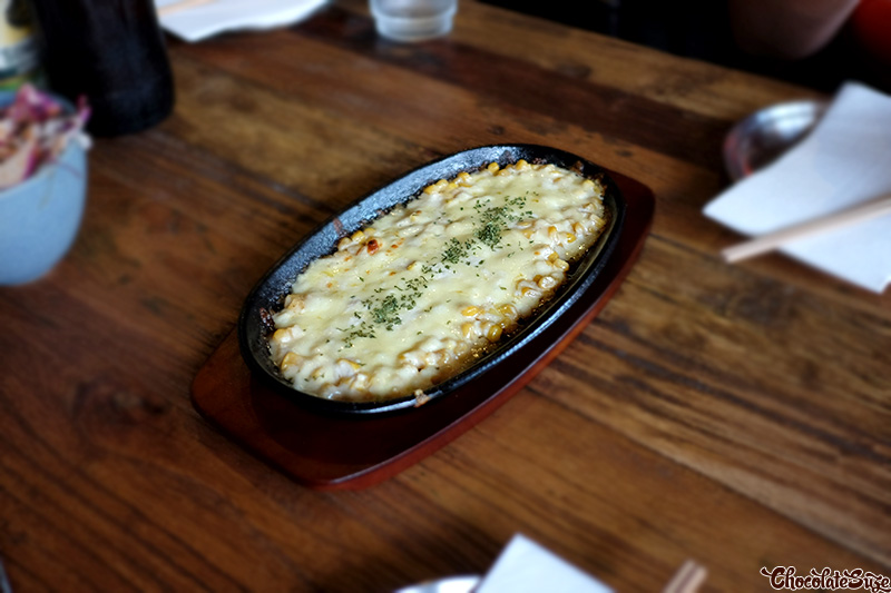Cheesy corn at Flying Tong, Newtown
