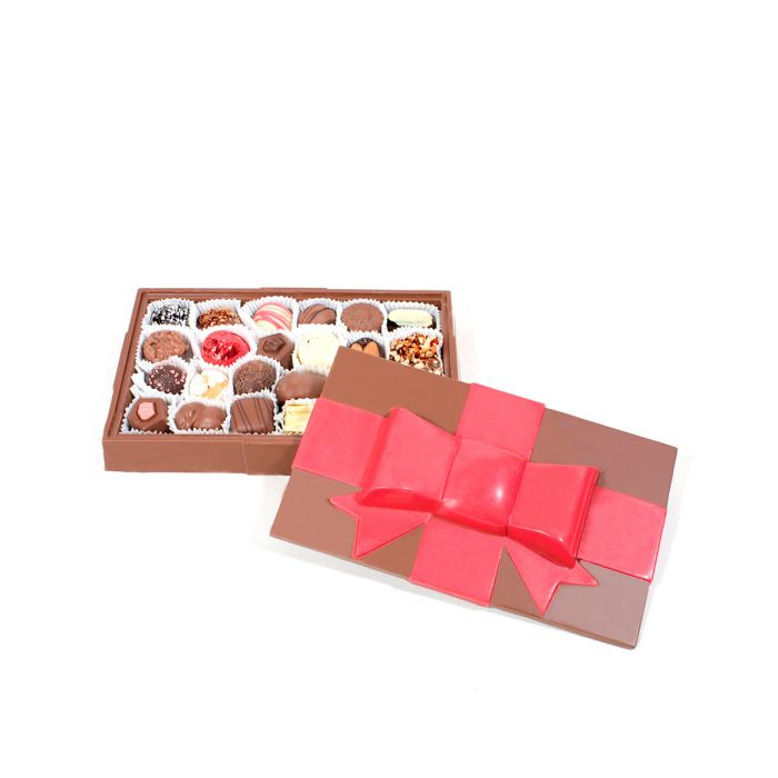 Large Chocolate Gift Box Assortment - large gift boxes with lids