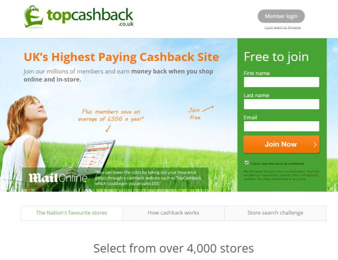 Cashback portál ako typ affiliate webu